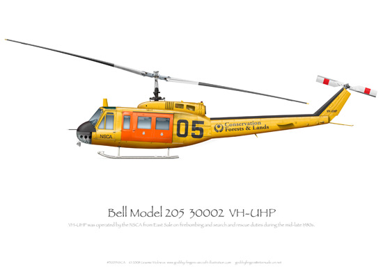 Bell Model 205 VH-UHP NSCA