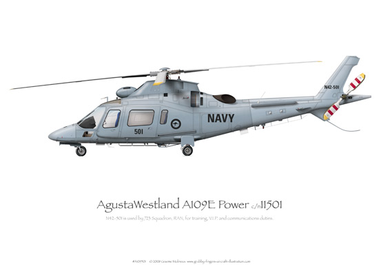 AgustaWestland A109E Power N42-501