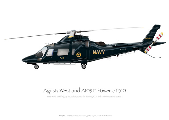 AgustaWestland A109E Power N42-510
