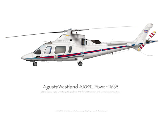 AgustaWestland A109E Power ZR321