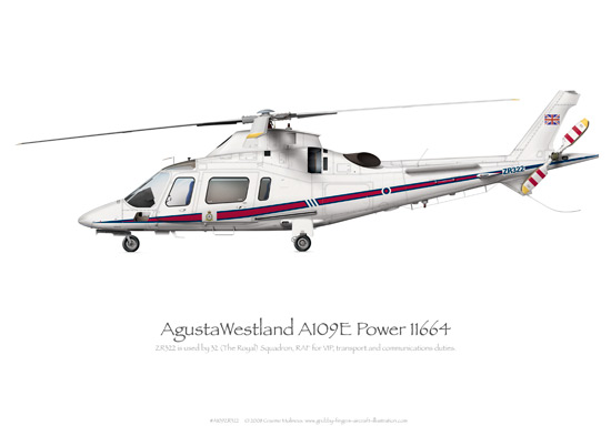 AgustaWestland A109E Power ZR322