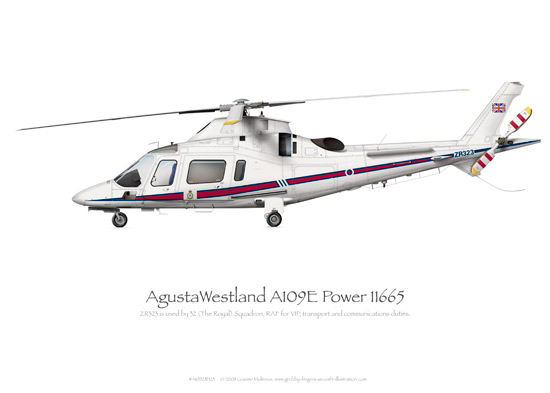 AgustaWestland A109E Power ZR323