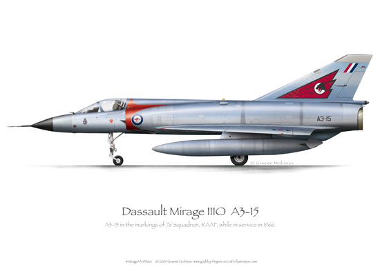 Mirage IIIO A3-15 Bare