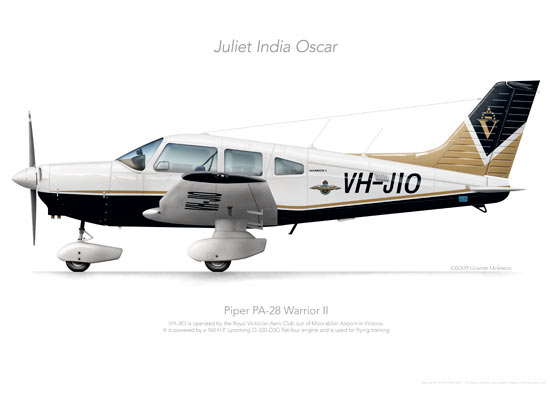 Piper Warrior VH-JIO RVAC