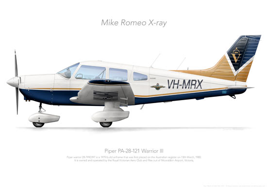 Piper Warrior VH-MRX RVAC 2016