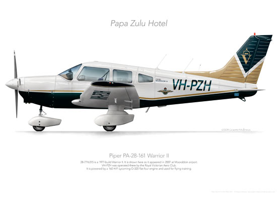 Piper Warrior VH-PZH RVAC 2007