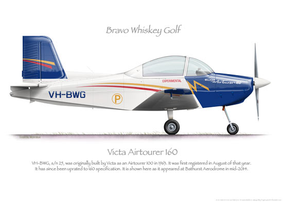 Victa Airtourer 160 VH-BWG 2014