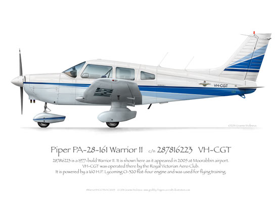 Piper Warrior VH-CGT RVAC 2005