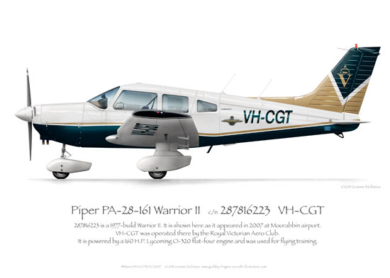 Piper Warrior VH-CGT RVAC 2007