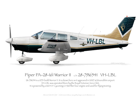 Piper Warrior VH-LBL RVAC 2007