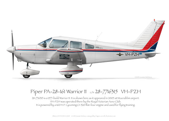 Piper Warrior VH-PZH RVAC 2005