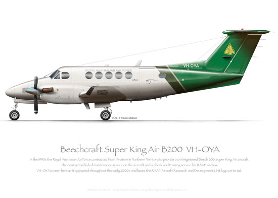 Beechcraft Super King Air Prints