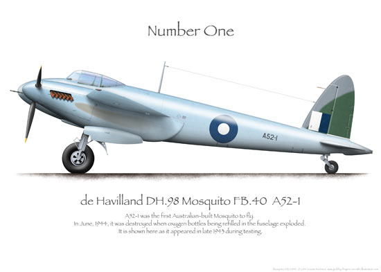 De Havilland Mosquito Prints