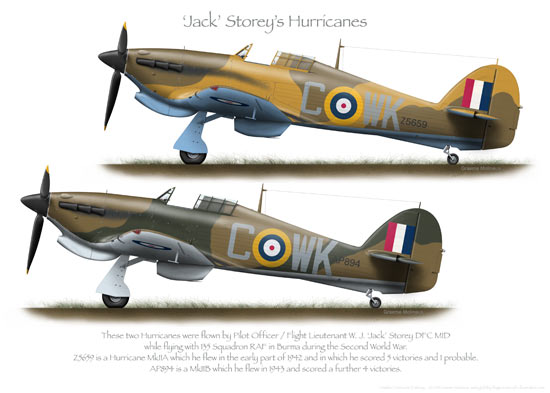 Hawker Hurricane Prints