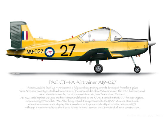 PAC CT-4 Airtrainer Prints