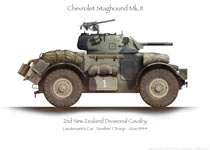 Chevrolet Staghound MkII Lt 1Tp 1944